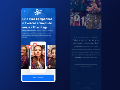 Cam Join | Mobile mobile homepage home productdesign product page product design products ux  ui uxui ux design ui design ui  ux ux web ui layout uidesign uxdesign uiux product