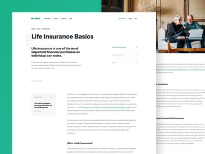 HD Vest® | Blog Post blog website web design education finance share tax money green editorial typogaphy