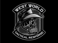 West World Skull Patch
