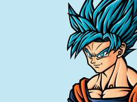Dragon Ball Super Goku SSJB