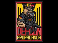 Defcon Propaganda K9 x Orozco Design