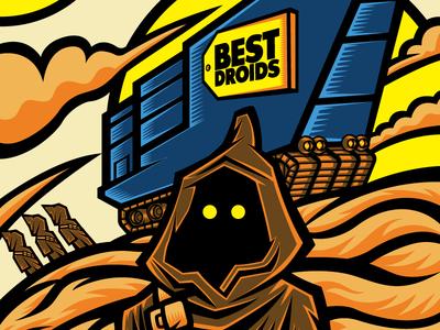 Star Wars Best Droids Patch
