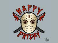 Jason Happy Friday the 13th