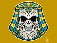 Assassins Creed Skull Mummy