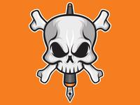 Skull N Bones Vector