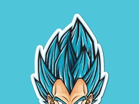 Ods stickerspacks vegeta ssjb