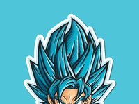 Ods stickerspacks goku ssjb