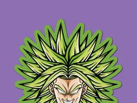 Ods stickerspacks broly