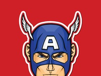 Ods stickerspacks captainamerica