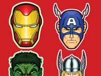 Ods stickerspacks marvel series1 stickers 09