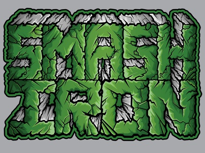 Smash Iron Vector Art vector art logo logos product apparel design art vector illustrator illustration