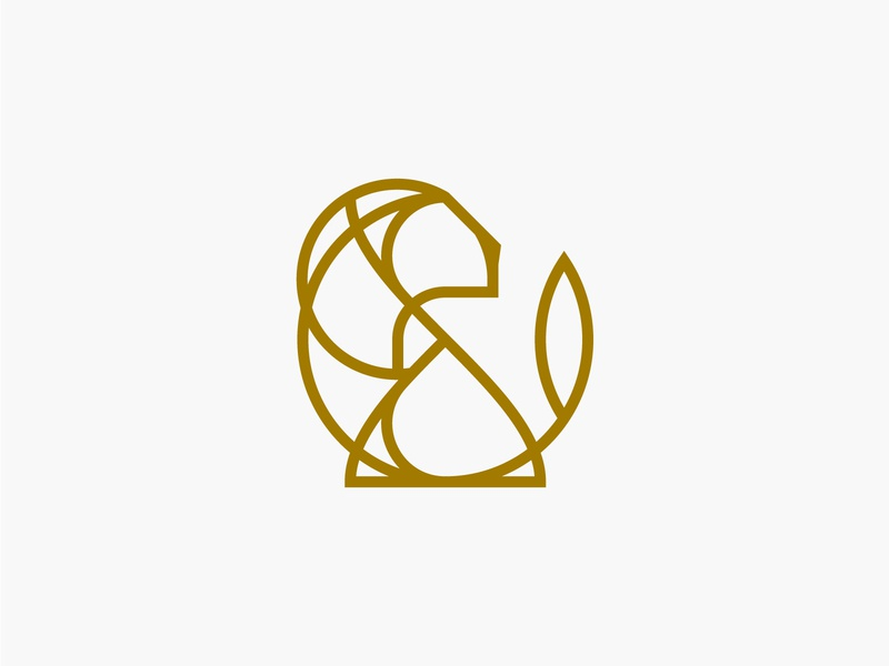 Lion app grid branding design vector golden ratio illustration icon logo illustrator