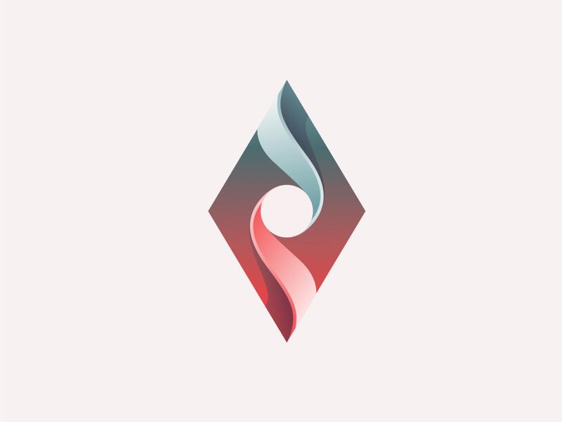 icon app branding design process golden ratio gradient illustration icon logo illustrator
