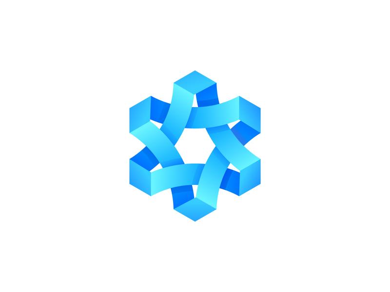 Geometry geometry clean branding design gradient illustration icon logo illustrator