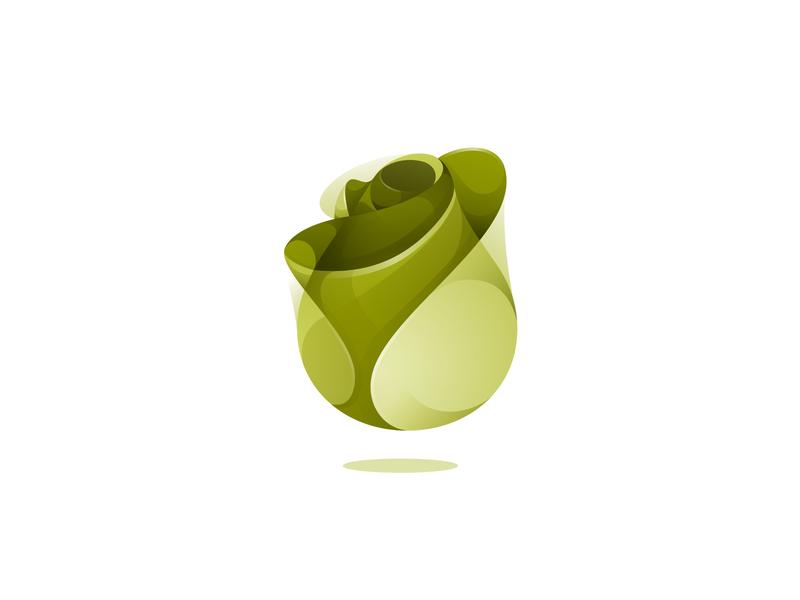 flower flower illustration flower logo flowers branding design vector gradient illustration icon logo illustrator