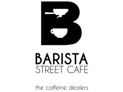 Barista street cafe vector identity design identity café logodesign logotype branding brand design logo