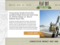 Flat Out Website