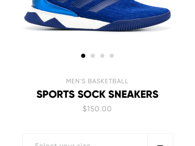 Footastic - E-Commerce Shoes App pdp product detail adidas nike shop ecommerce shoes cart