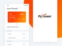 Payoneer - App Concept