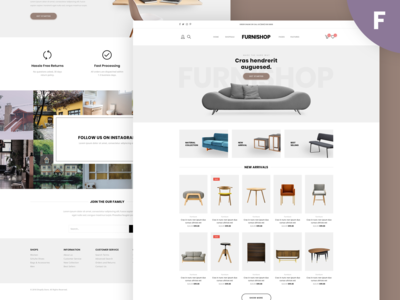 Furnishop -  E-commerce Template
