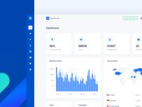 Nextsale Dashboard UX/UI mobile dashboard flat growth social proof marketing banking web finance ux app ui