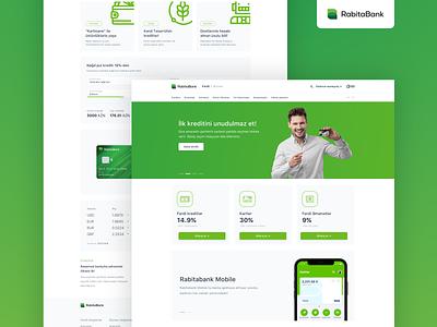 Rabitebank New Responsive Website UX/UI Design ecommerce banking app rabitabank rabitebank fintech ui ux  ui mobile web finance banking