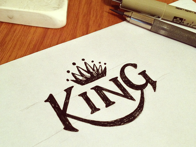 King Lettering