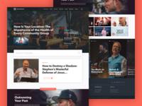 Watermark Media Landing Page