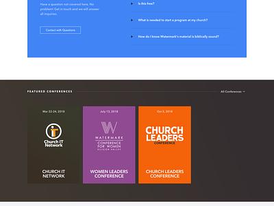 Watermark Resources - Home home design spacetime ux video ui website church