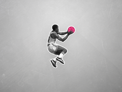 Slam - Dribbble Sticker