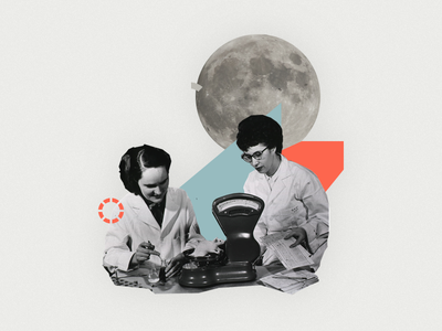Spacetime Collage sketch spacetime moon nasa collage