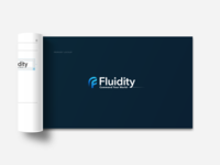 Fluidity Tech Brand Guideline Booklet Detail