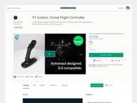 Fluidity Tech Kickstarter Launch