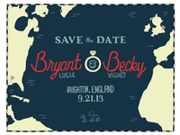 Save the Date - Bryant & Becky