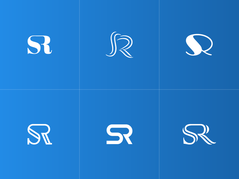 Sr Monograms By Saurabh Sonawane On Dribbble
