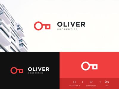 Oliver Properties - Real Estate Logo