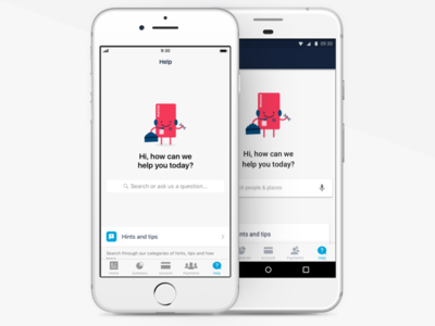 Help android iphone help fintech banking monzo