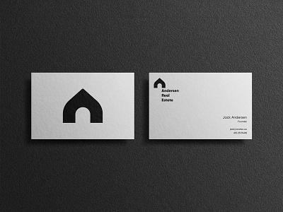 Andersen minimalist vector icon design branding logo