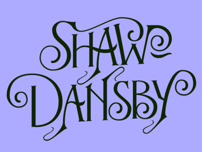 Shaw-Dansby Logo — First Draft