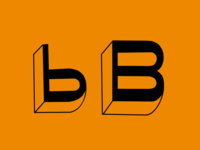 Uppercase and Lowercase B's