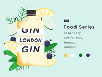 food series. Gin.