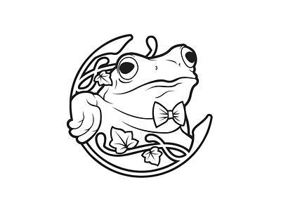 Giard...in Bar logo ivy papillon classy milan art nouveau frog graphic design graphic logo design logo branding brand