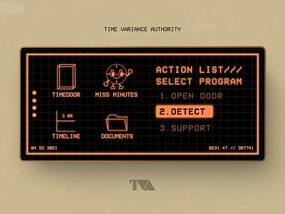 My Daily UI - Loki Time controller/TVA time orange schdual app icon tva mavel loki design dailyui illustration ui