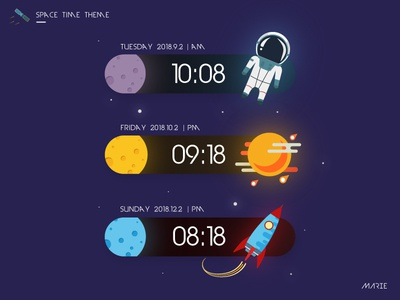 Space Timing