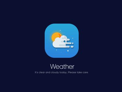 App Icon - Weather DailyUI 04