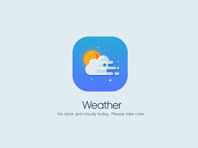 App Icon - Weather Daily UI