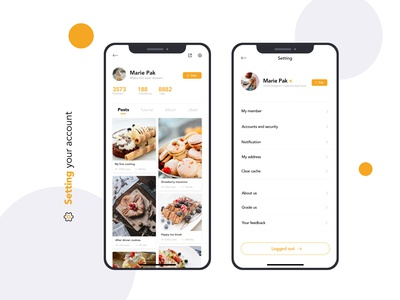 Setting - Daily UI 07