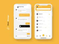 DailyUI 013-- Direct Messaging