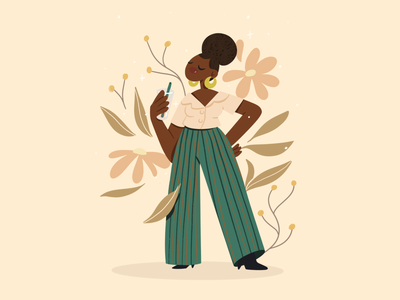 Warm heart 🌼 characterdesign character illustration
