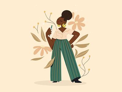 Warm heart 🌼 characterdesign character illustration